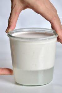 Separation of coconut cream