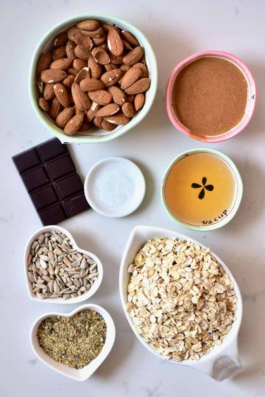 Ingredients for Granola Bars