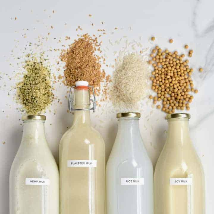 Homemade seed milk