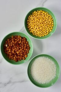 Soaked seeds and grains