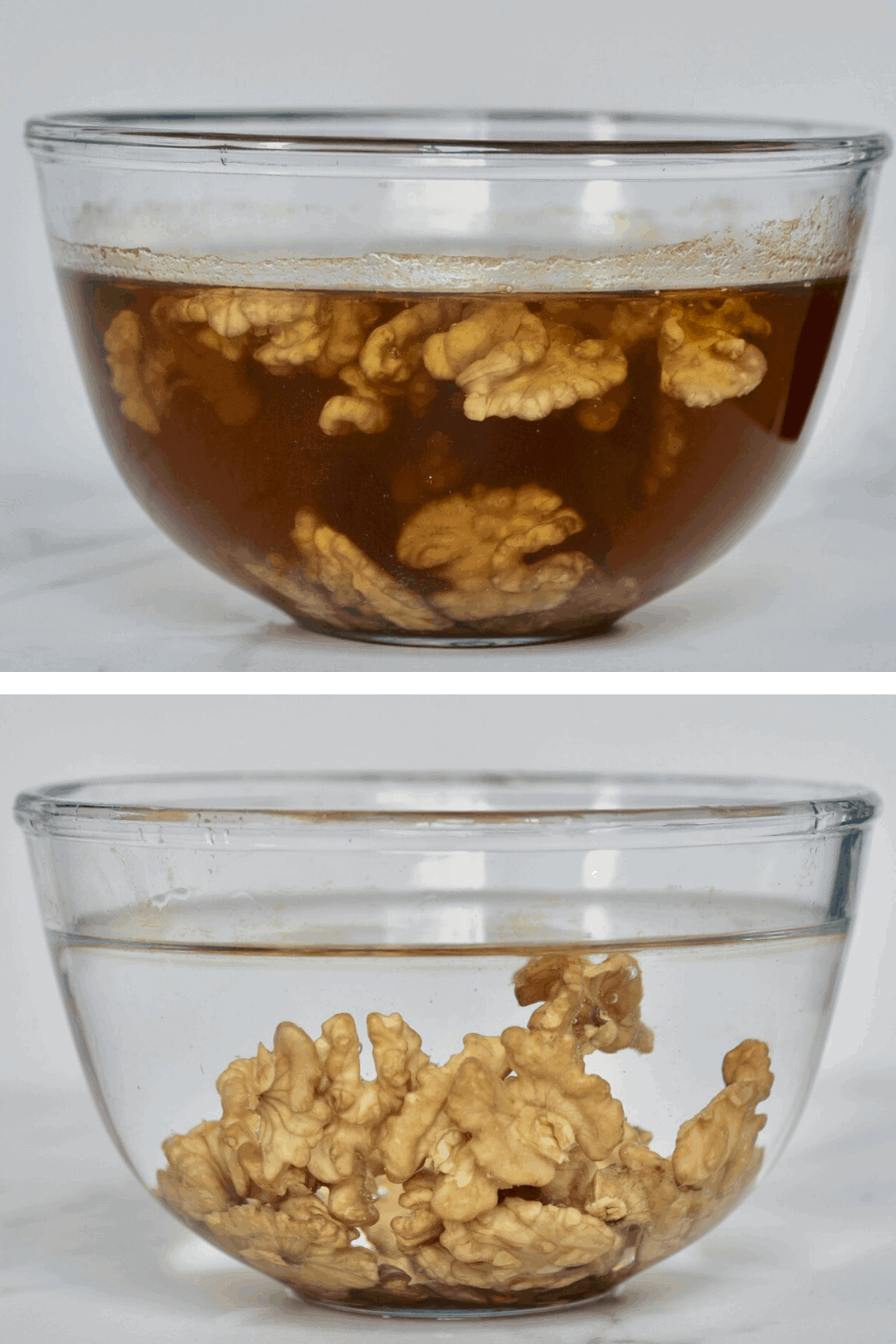 Soaked walnuts for dairy-free milk