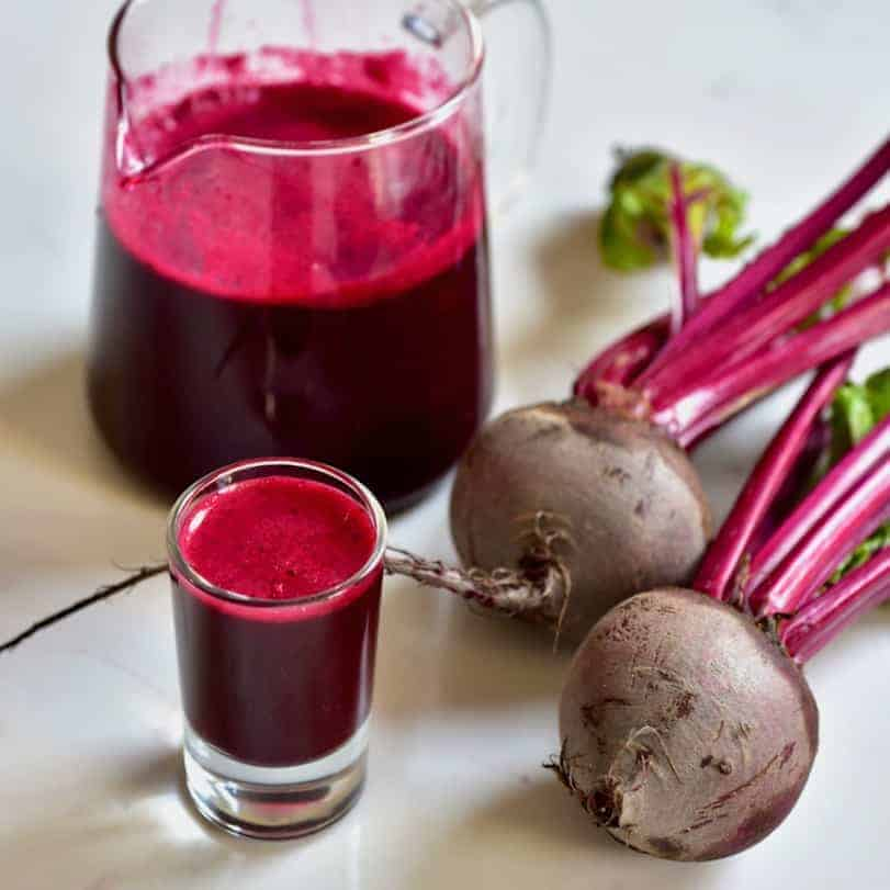 Simple Beetroot And Ginger Juice Recipe - Alphafoodie