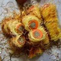 Square photo Carrot Tree Logs