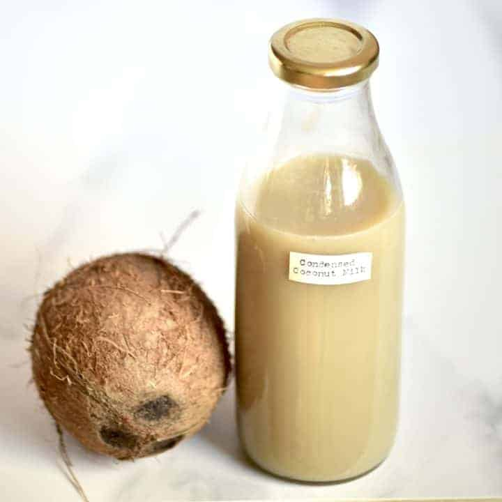 Square photo condensed coconut milk