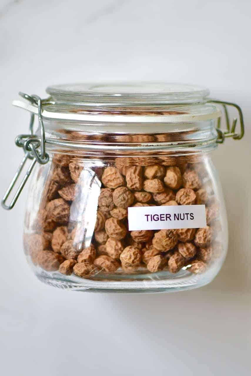 Tiger Nuts in a jar