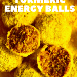 Turmeric Energy little bites with one open