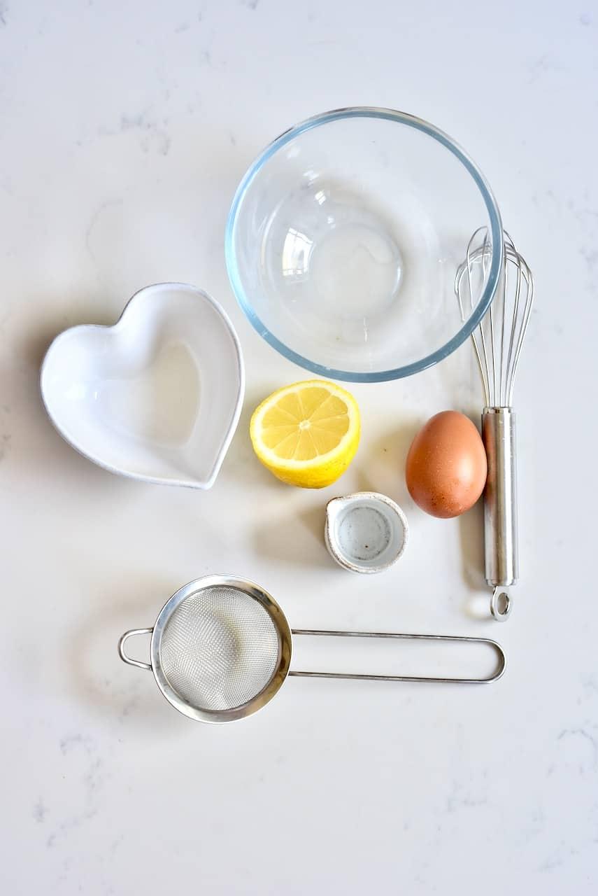 Egg wash ingredients