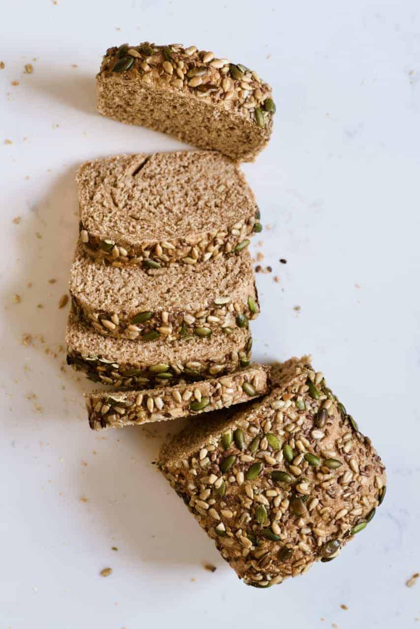 Sliced multigrain bread