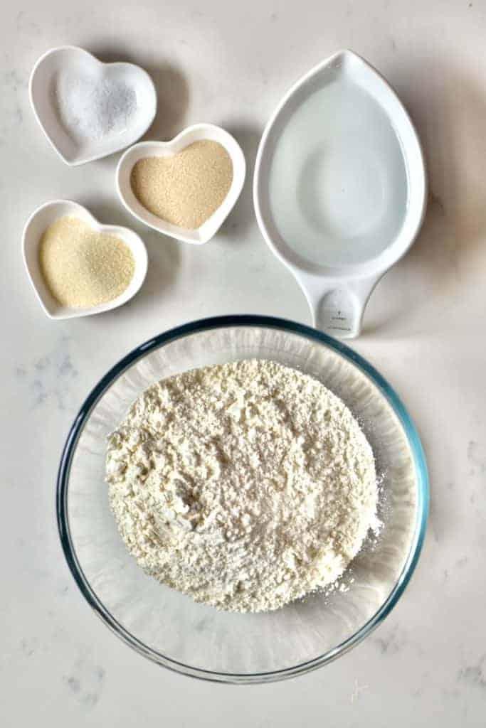 Pita bread ingredients