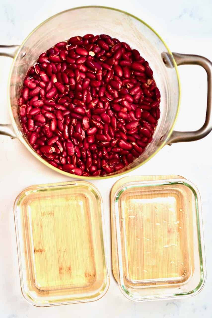 Freezing Red Kidney Beans
