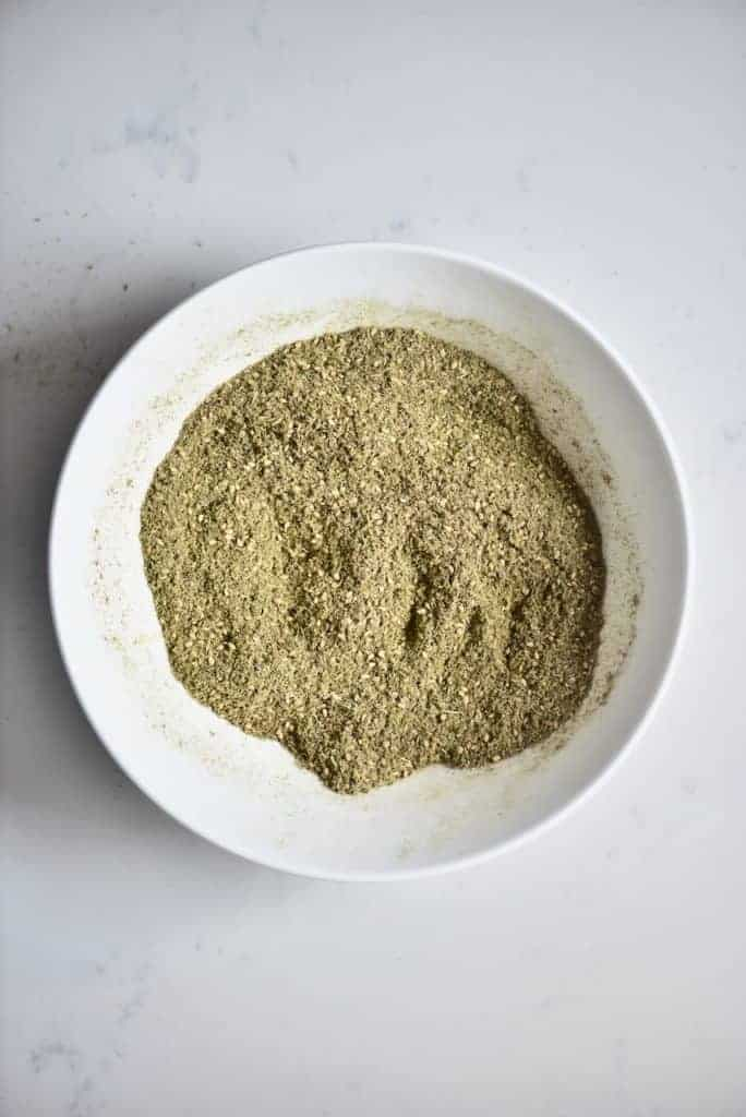 Mixed Zaatar spices