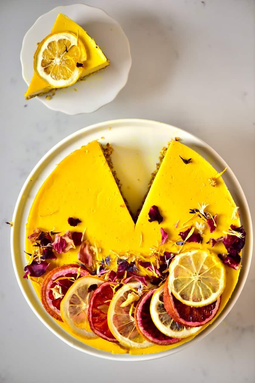 Turmeric Citrus Tart
