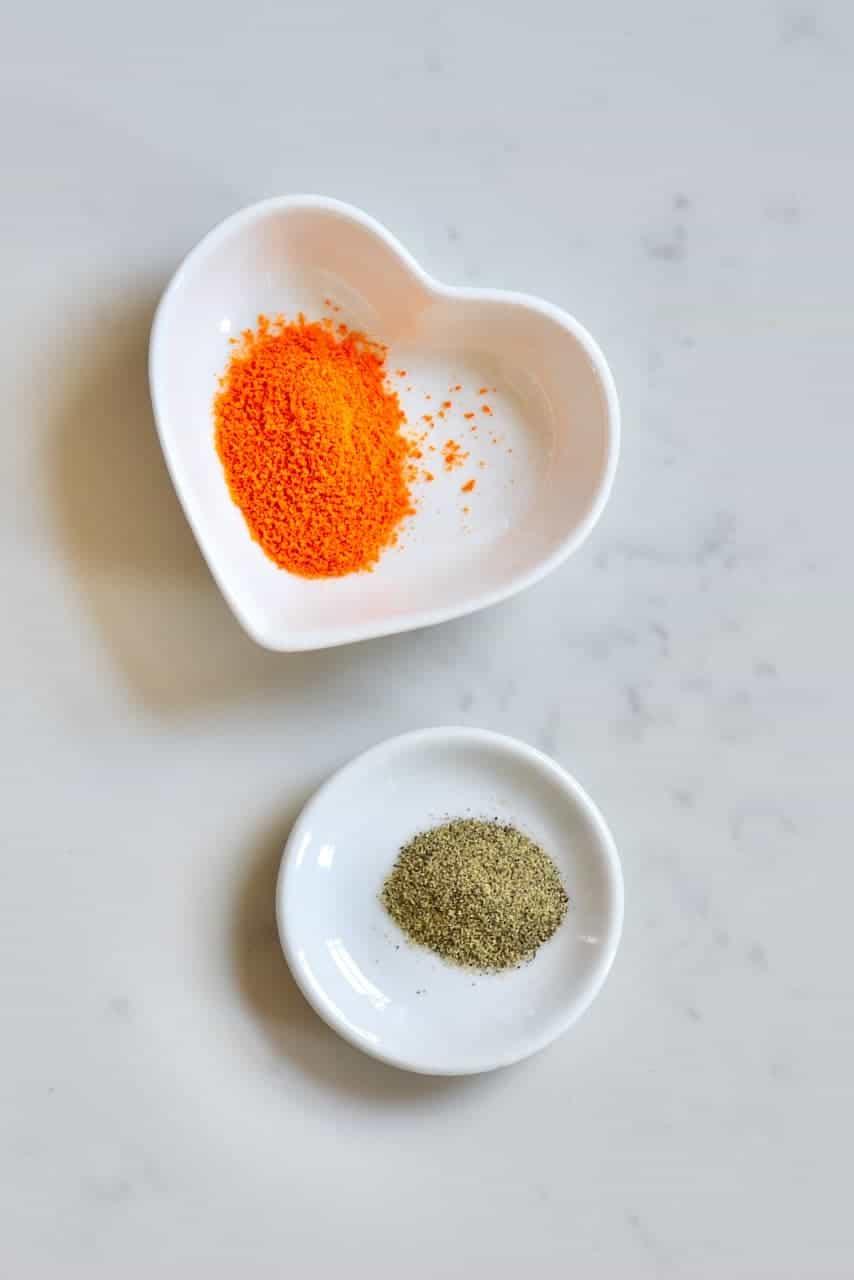Turmeric and pepper