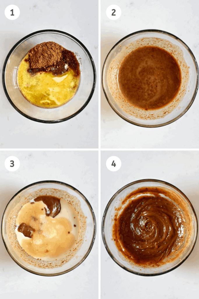 Vegan Cookie Steps