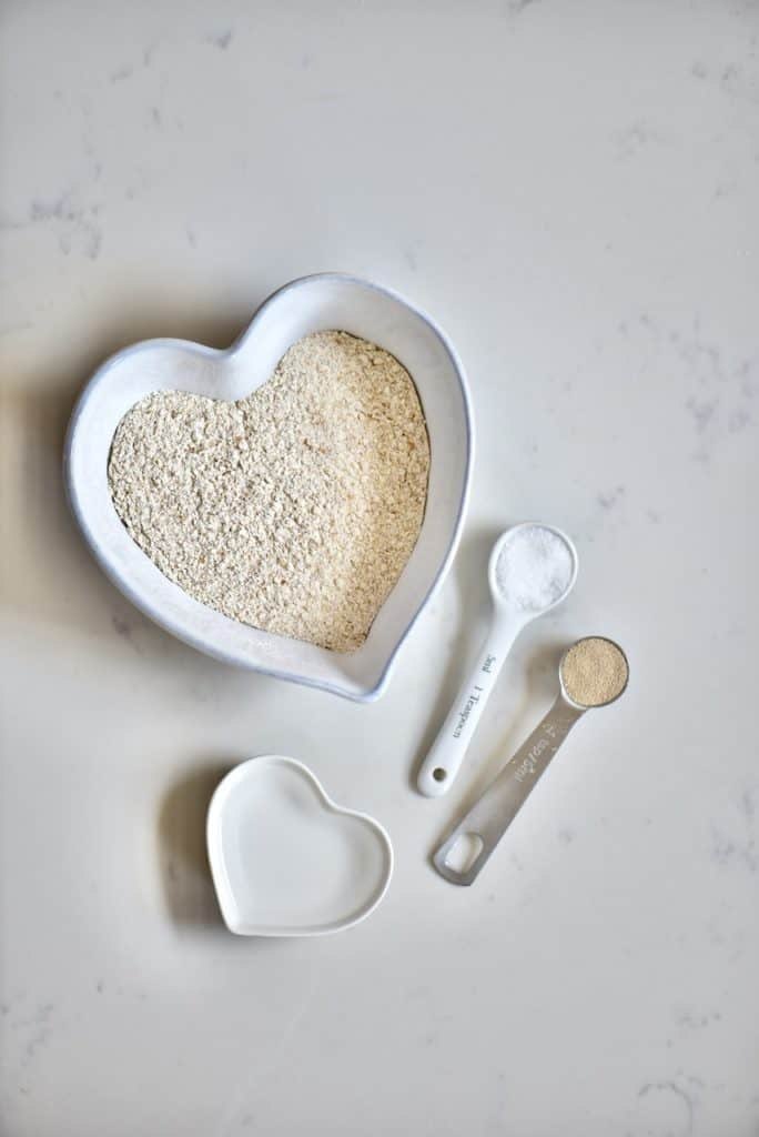 Ingredients for Wholewheat Bread