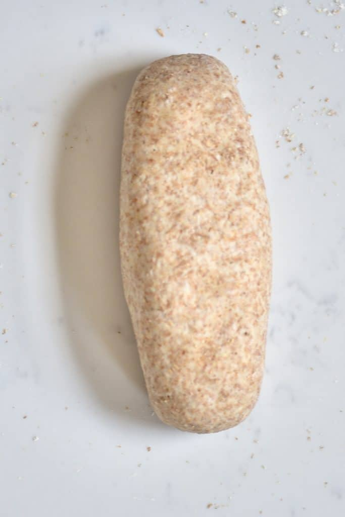 wholewheat bread dough loaf