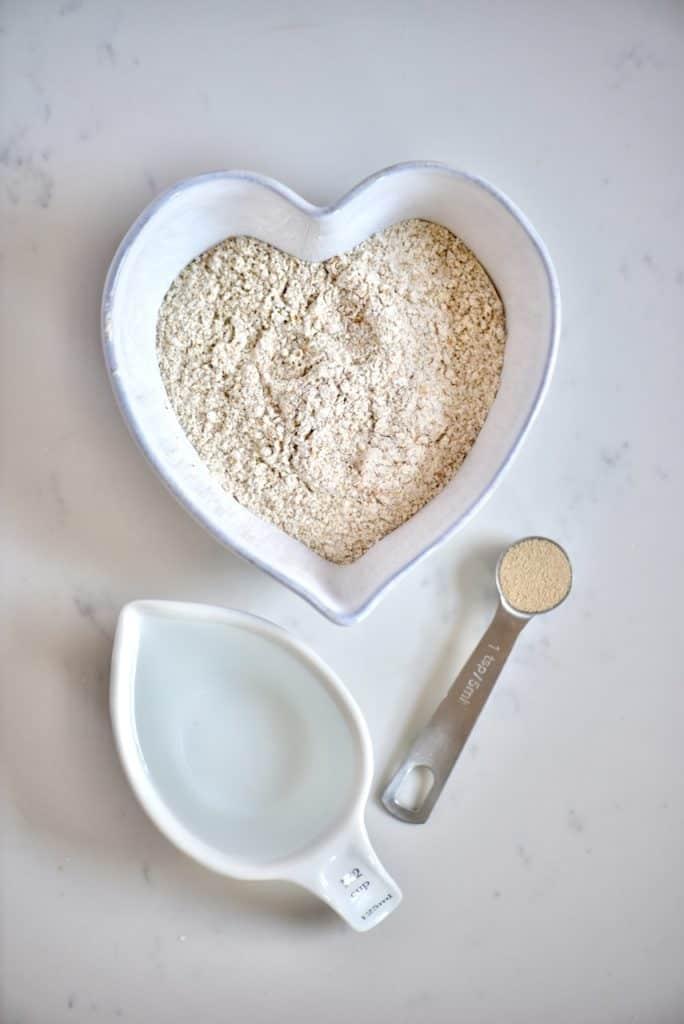 Wholewheat Bread Poolish ingredients