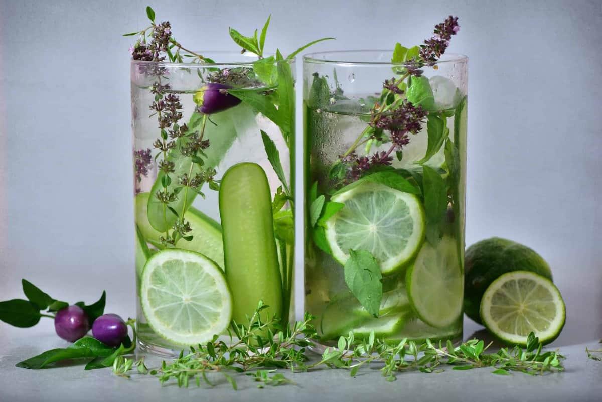 detox green water