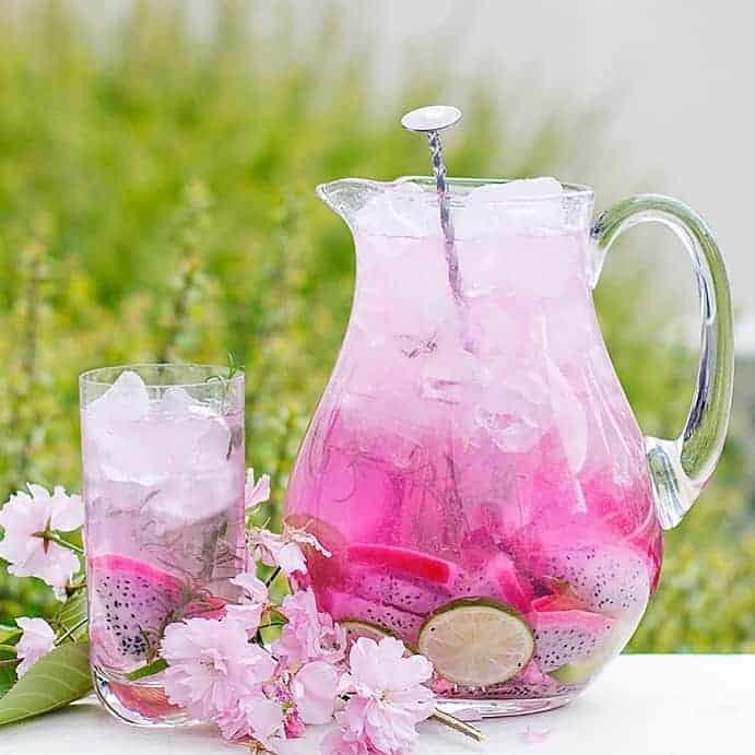 detox rose raspberry