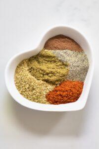 Making falafel spice mix