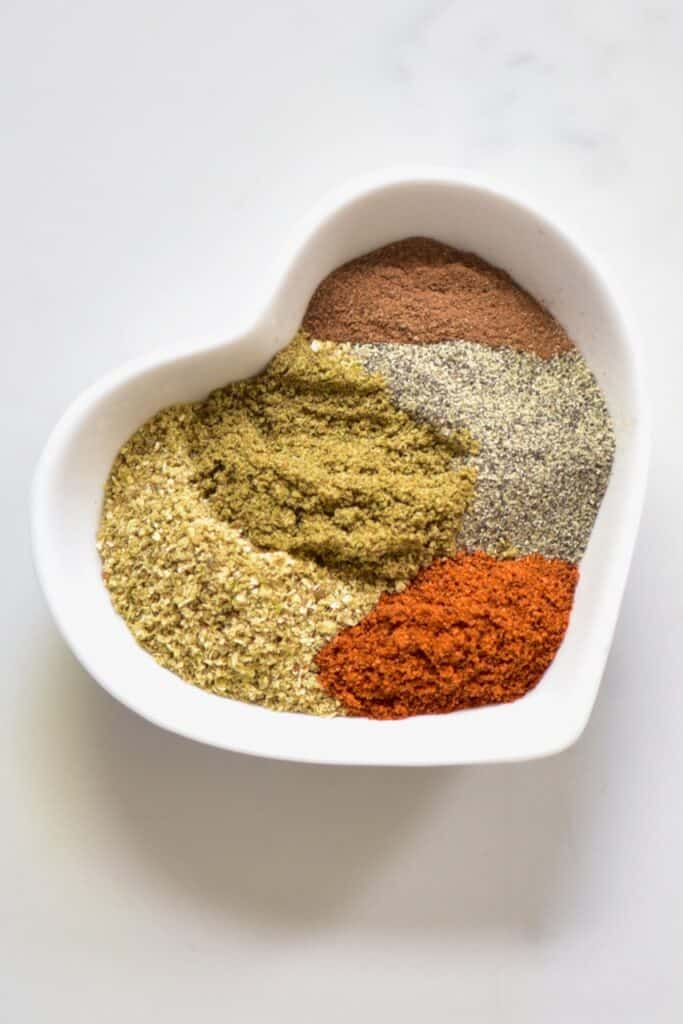 Making falafel spice mix