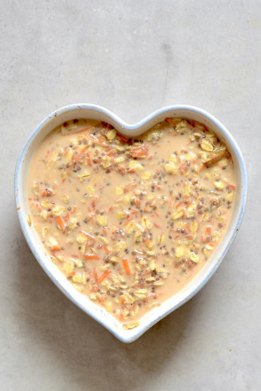 Mixed overnight oats