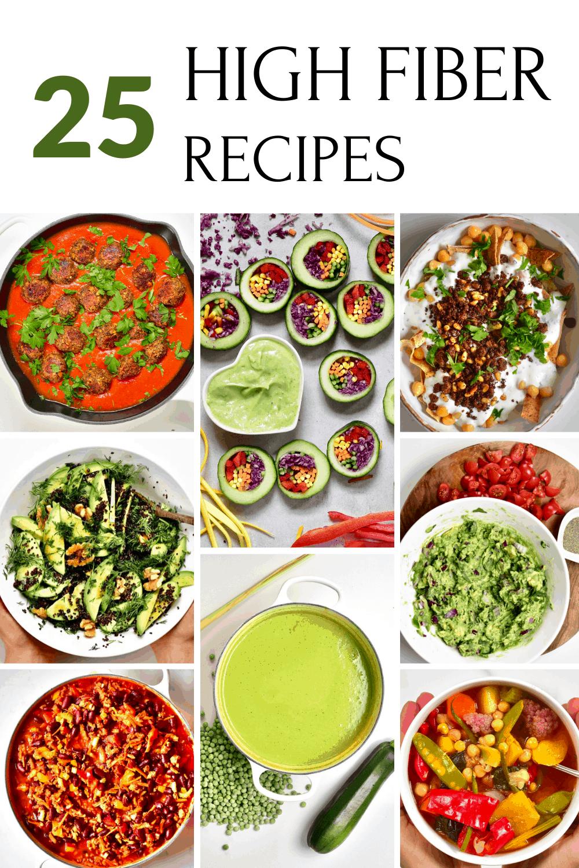 25 high fiber recipes