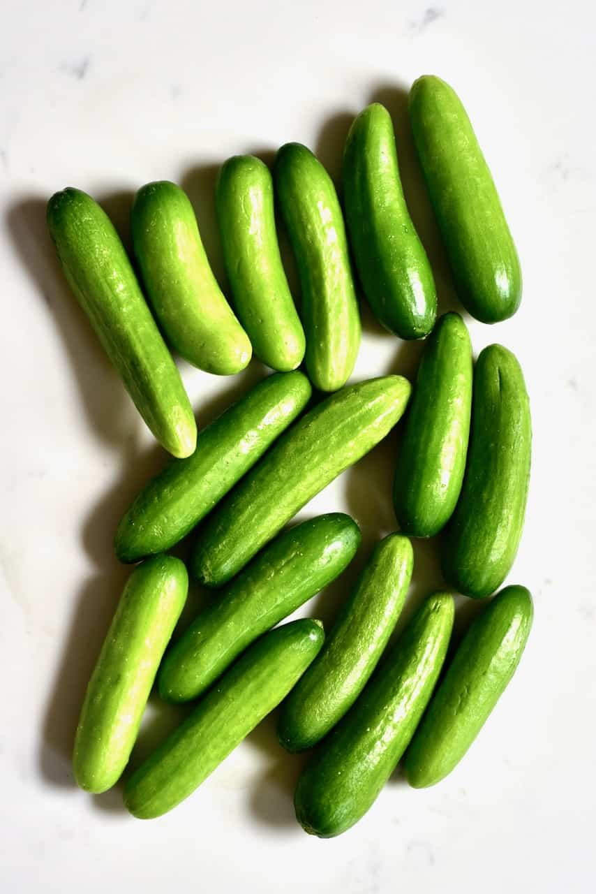 Baby cucumbers
