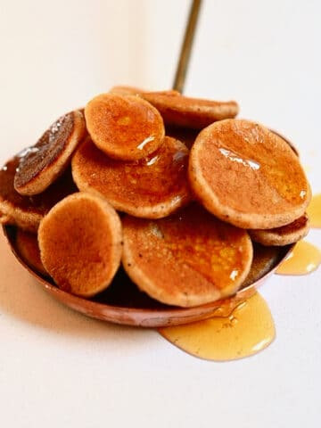 Mini pancakes Square photo