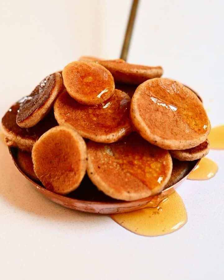 Mini pancakes Square photo