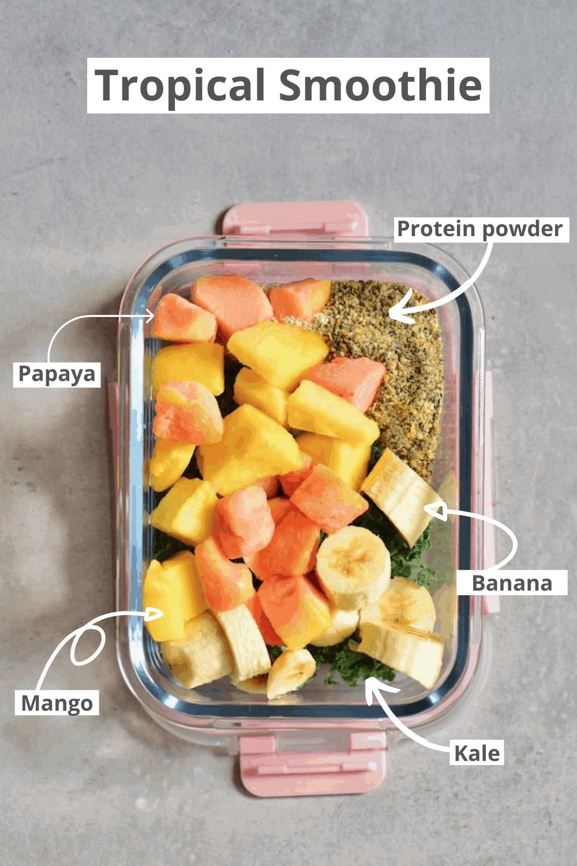 Tropical Smoothie Mango