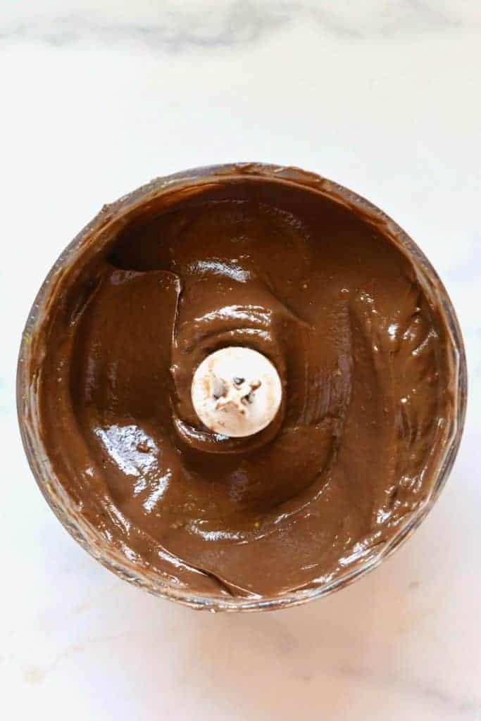 Avocado chocolate frosting