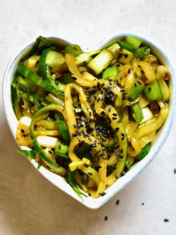 Asian Cucumber Salad _ Square Photo