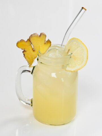 Ginger Lemonade_ Square Photo