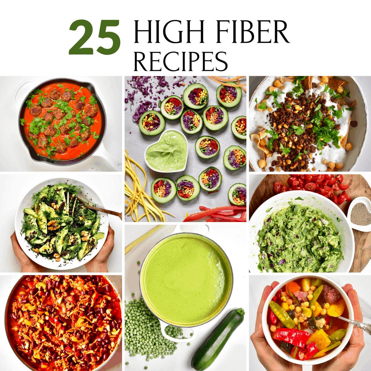 Square High Fiber Recipes