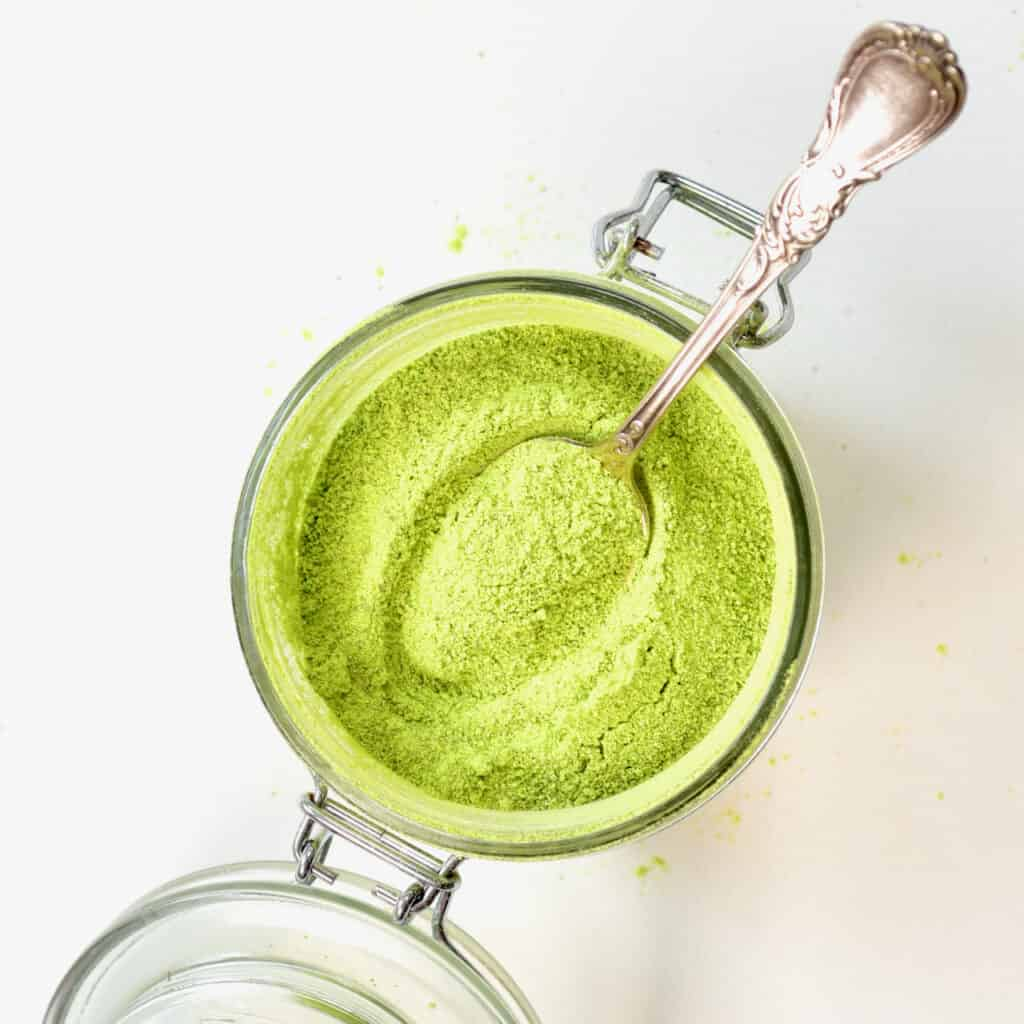green pea powder - Square photo