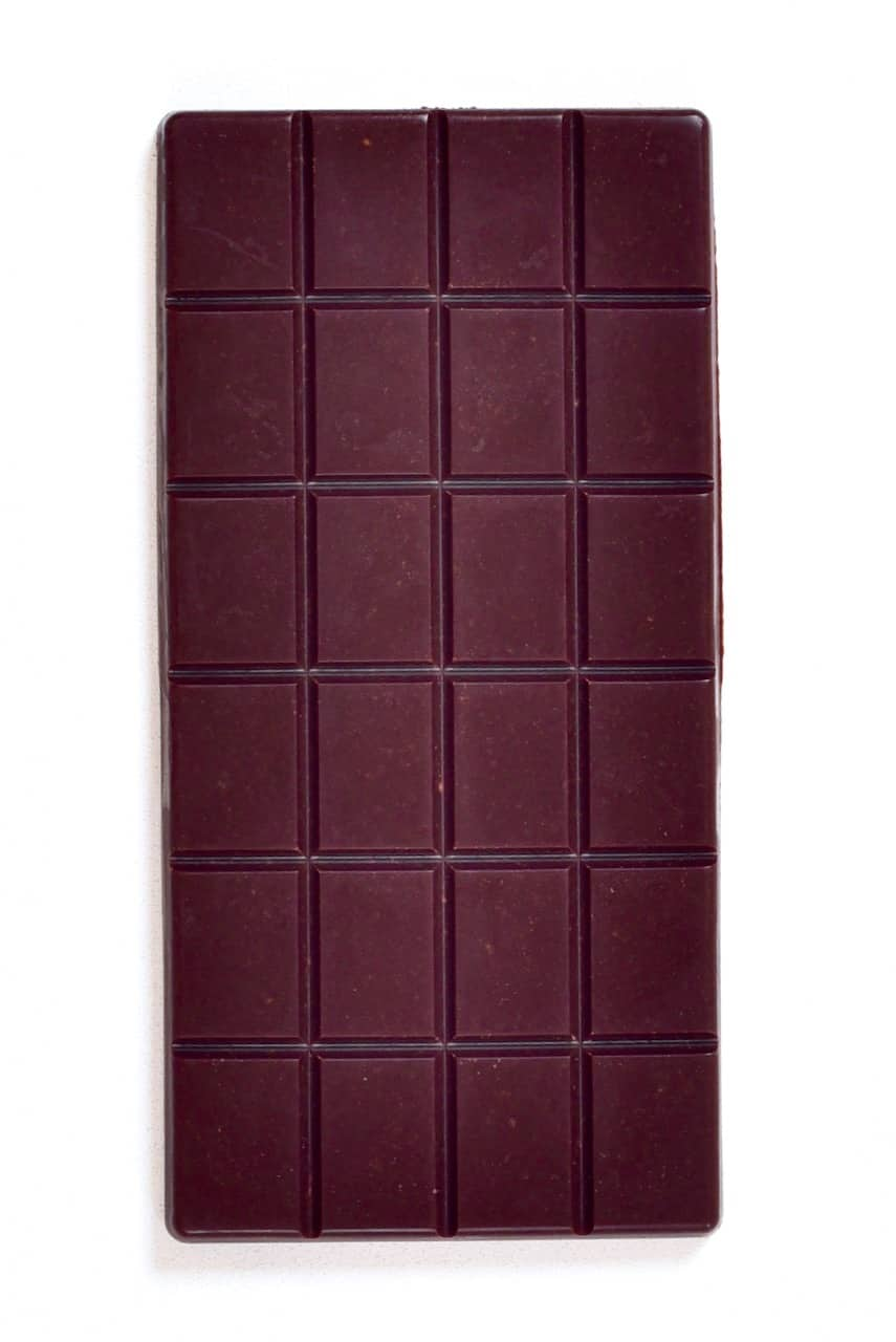 homemade milk chocolate bar