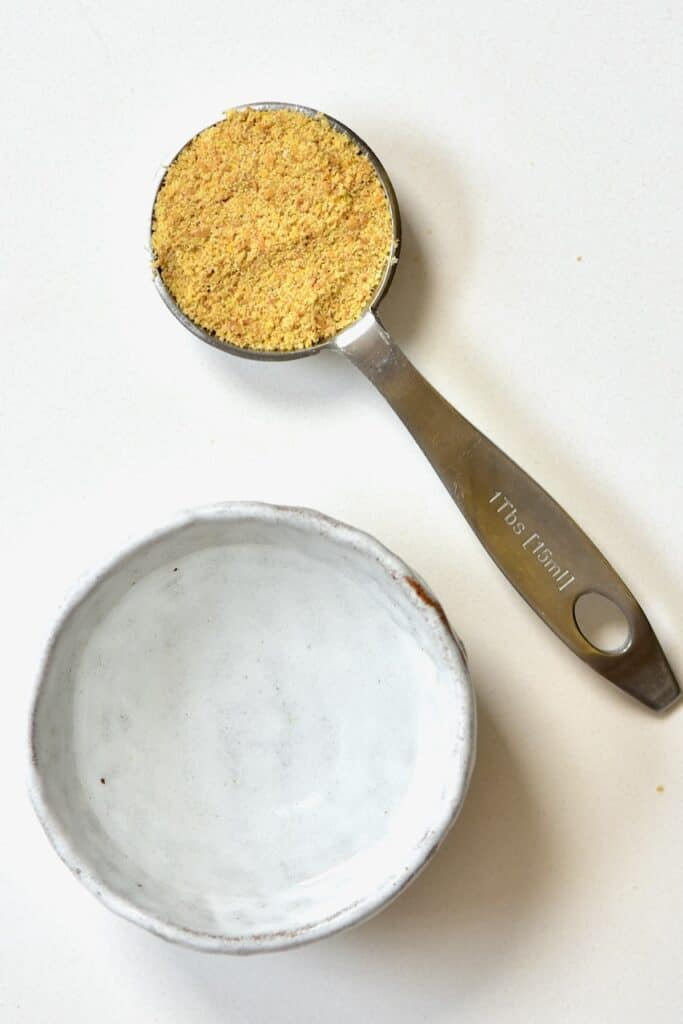 ingredients for making vegan Flaxseed egg