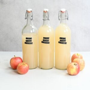 Apple Cider Vinegar Square Photo