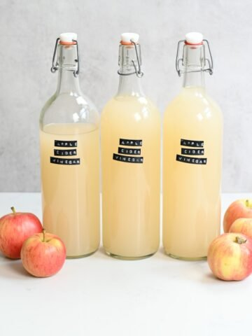 Apple Cider Vinegar Square Photo