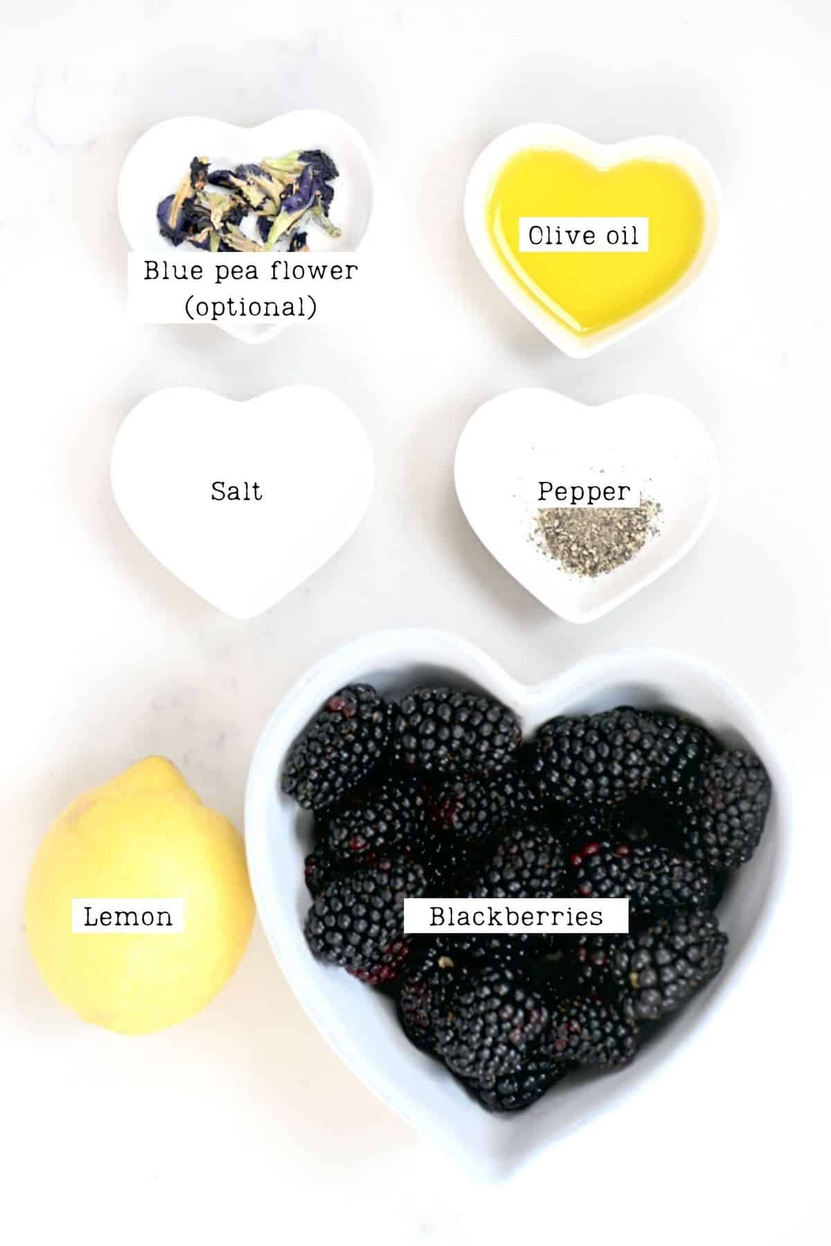 Blackberry Salad Dressing Ingredients