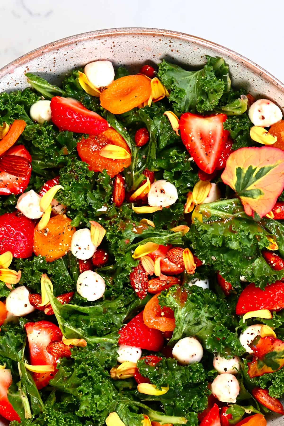 Close up of Strawberry Salad