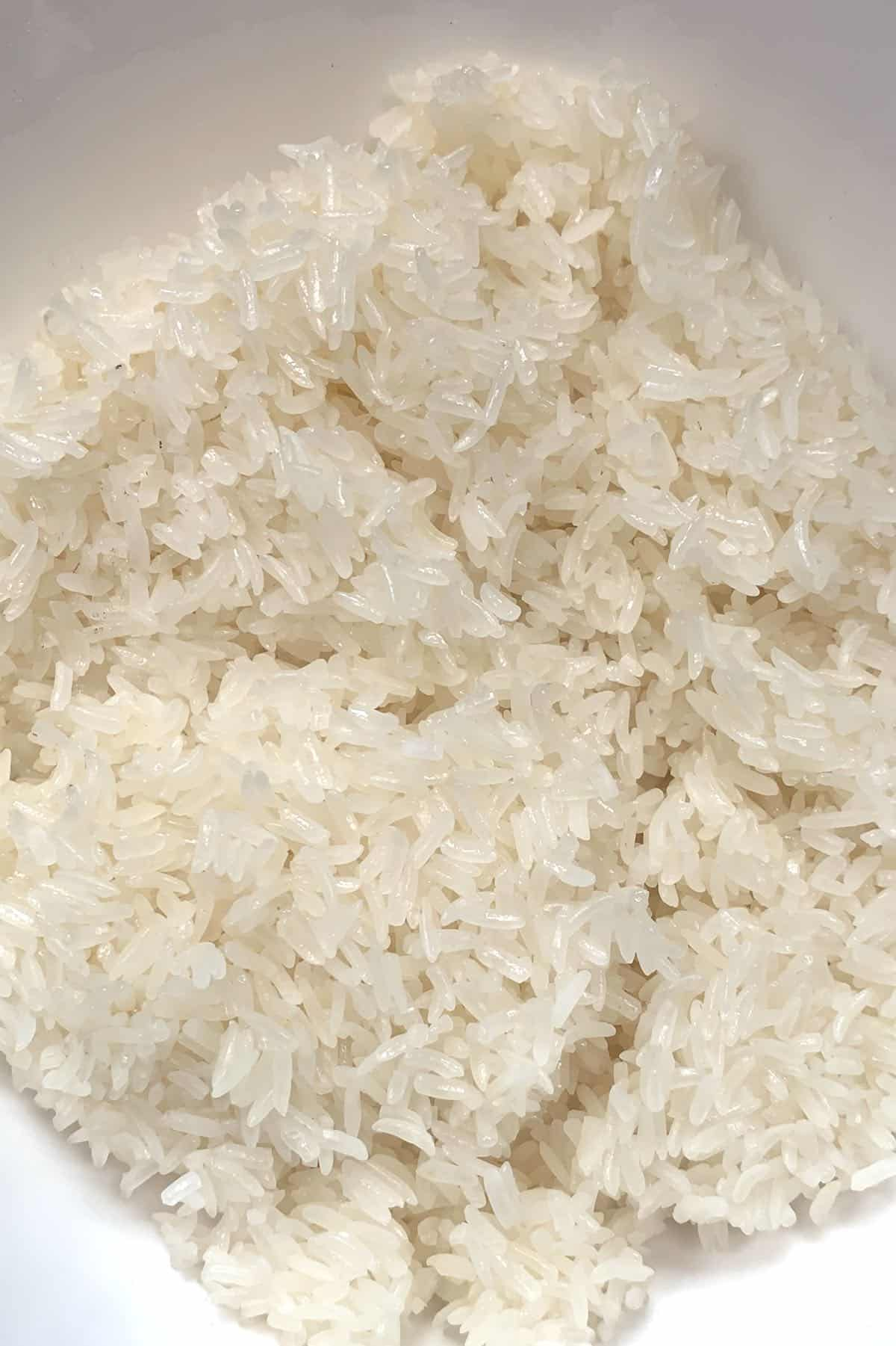 Cooked Thai Sticky Rice