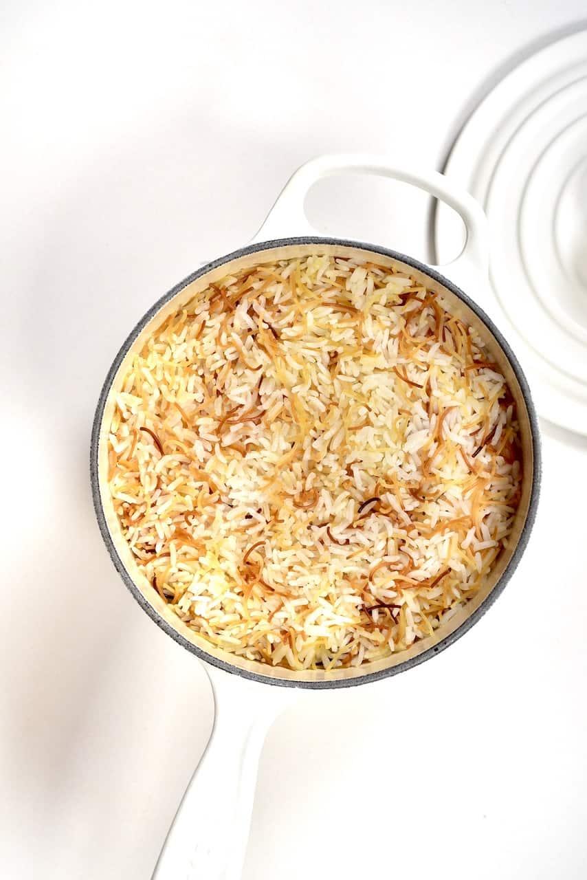 Cooked Vermicilli Rice