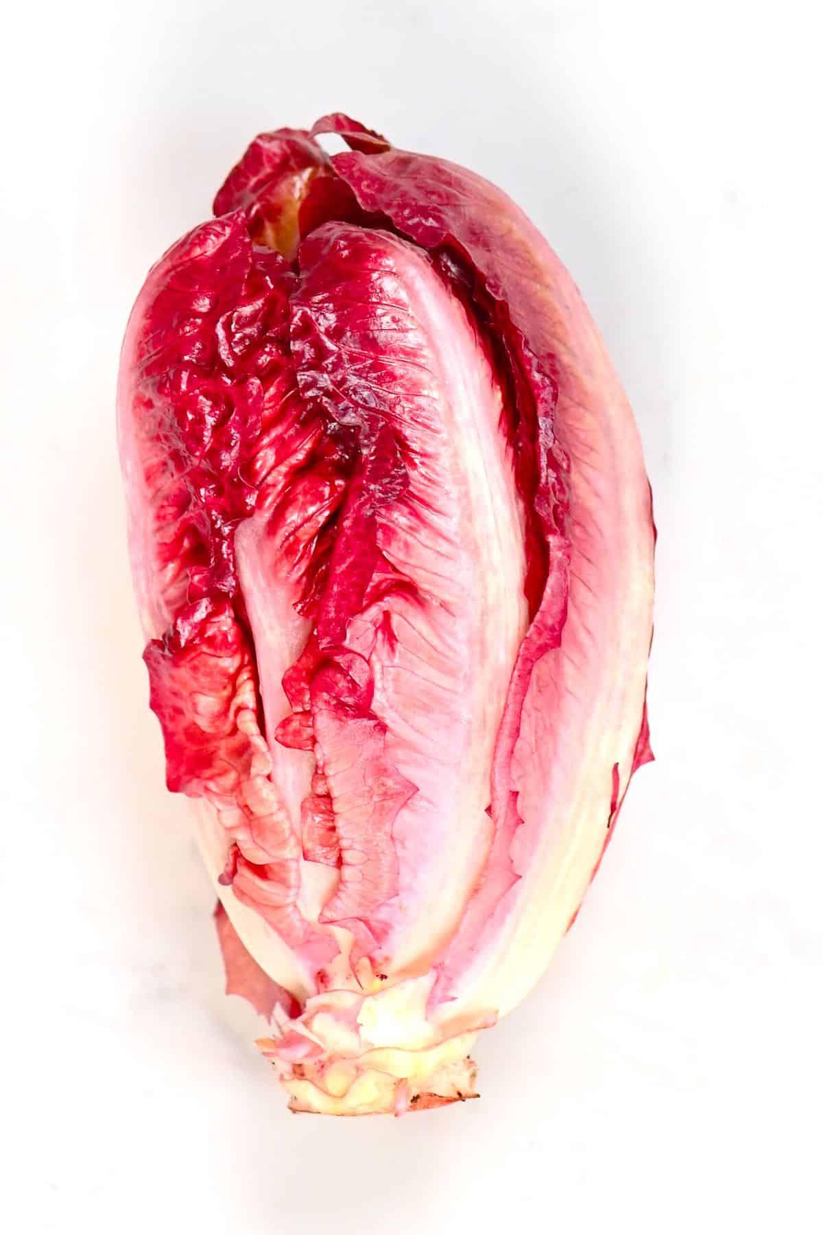 Pink lettuce head