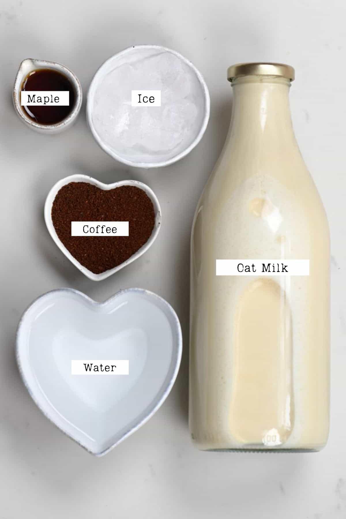 Iced Latte ingredients