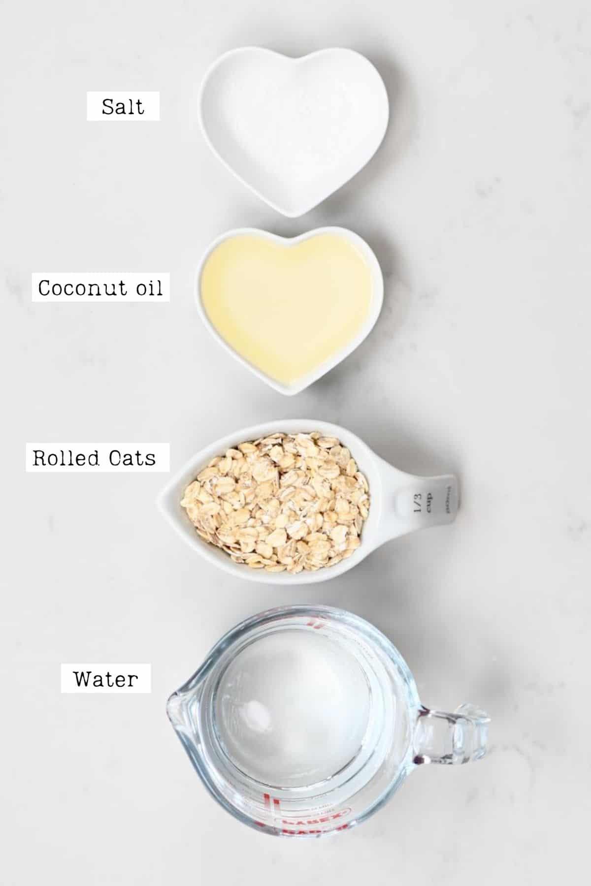 Oat Creamer Ingredients