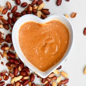 Peanut Dipping Sauce - square photo