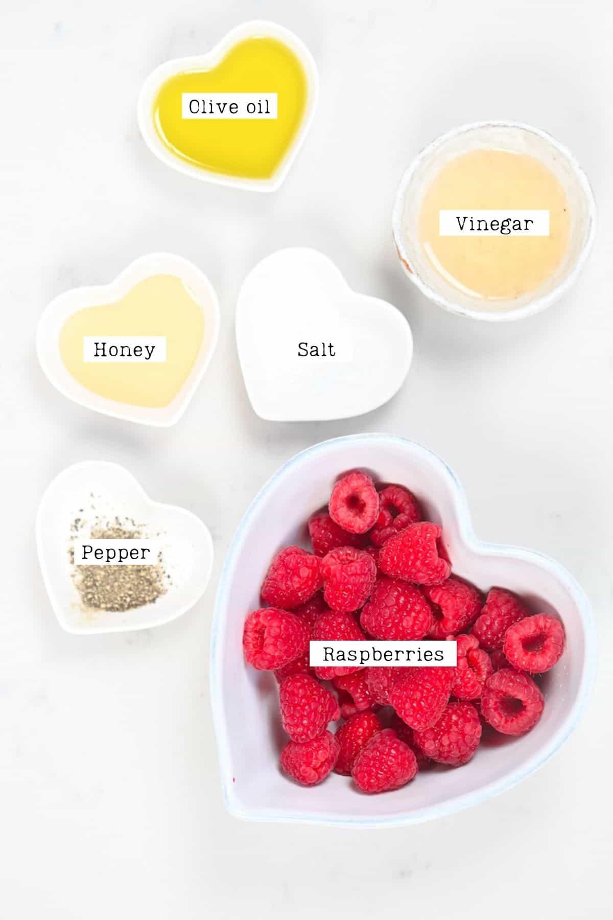 Raspberry Salad Dressing Ingredients