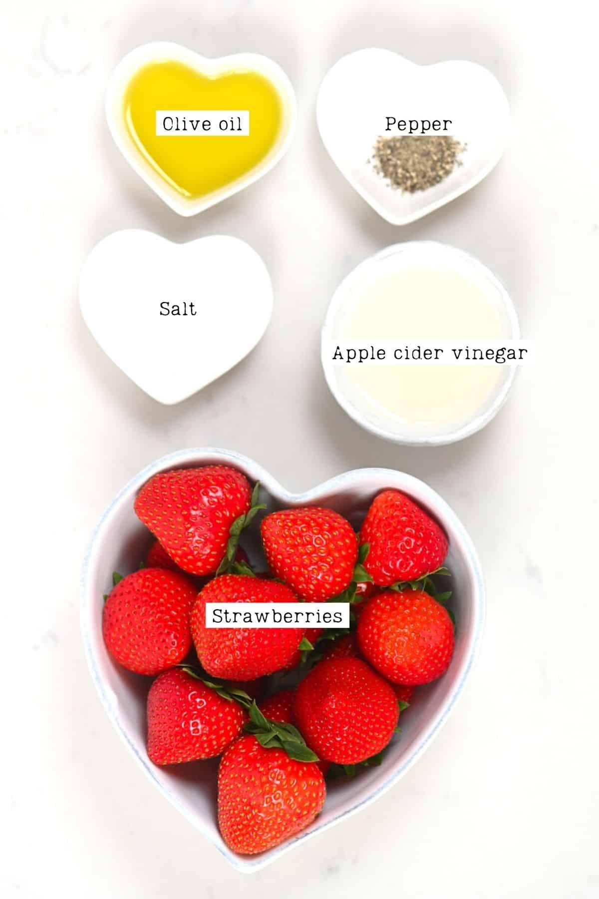 Strawberries Salad Dressing Ingredients